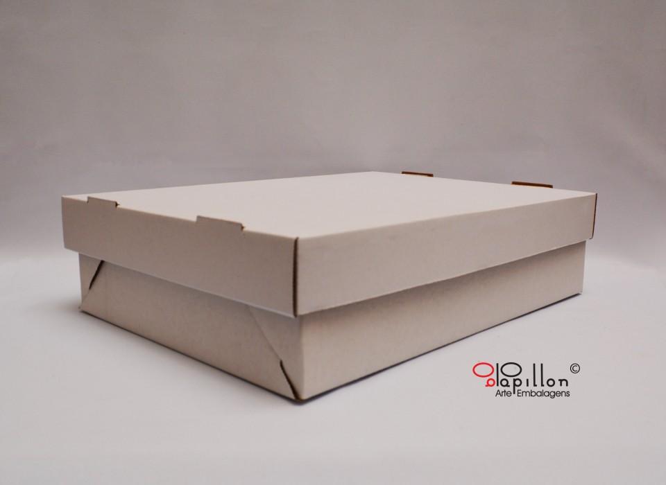 Caixa para bolos (lateral)