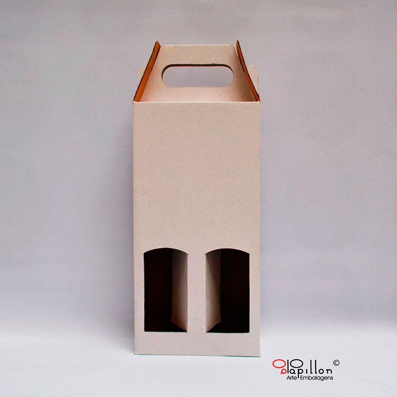 Caixa de papelão para vinho
