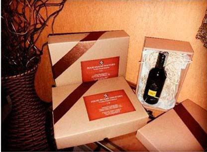 Embalagem para 2 vinhos