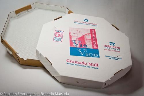 Fabrica de caixa de pizza