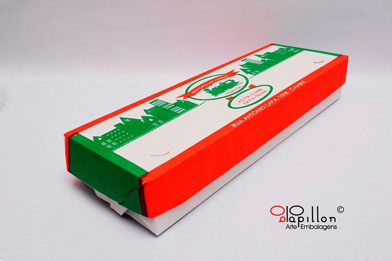Fabrica de caixas de papelão para bolos