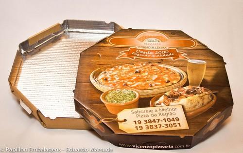 Fornecedor de caixa de pizza