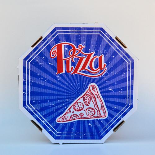 Tampa de pizza 35 com impressão genérica
