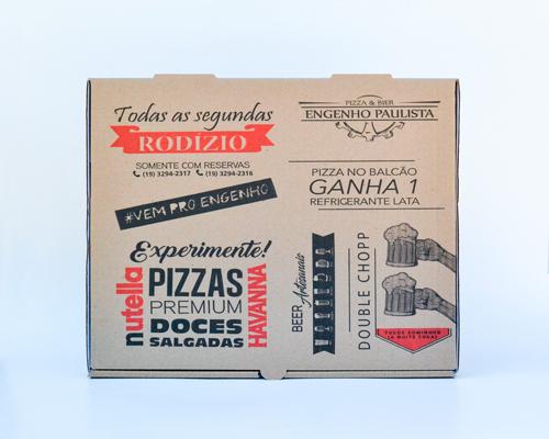 Caixa para pizza quadrada tamanho 35