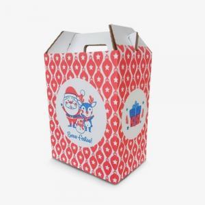 Embalagem para cesta de natal